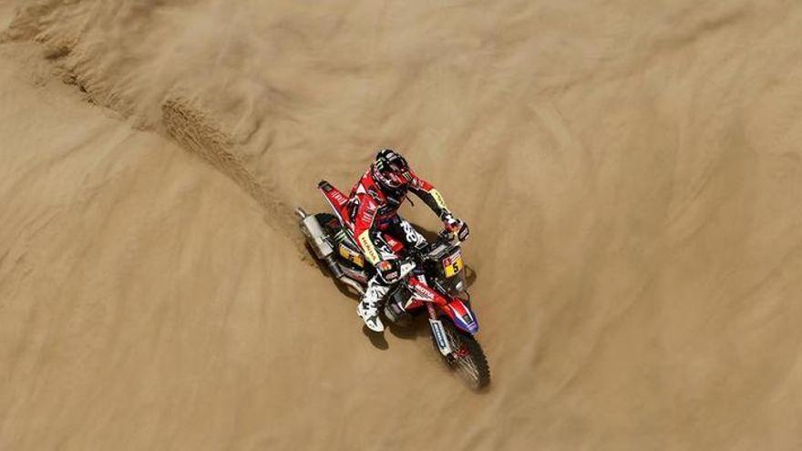 Barreda mantiene el tipo en la sexta etapa del Dakar
