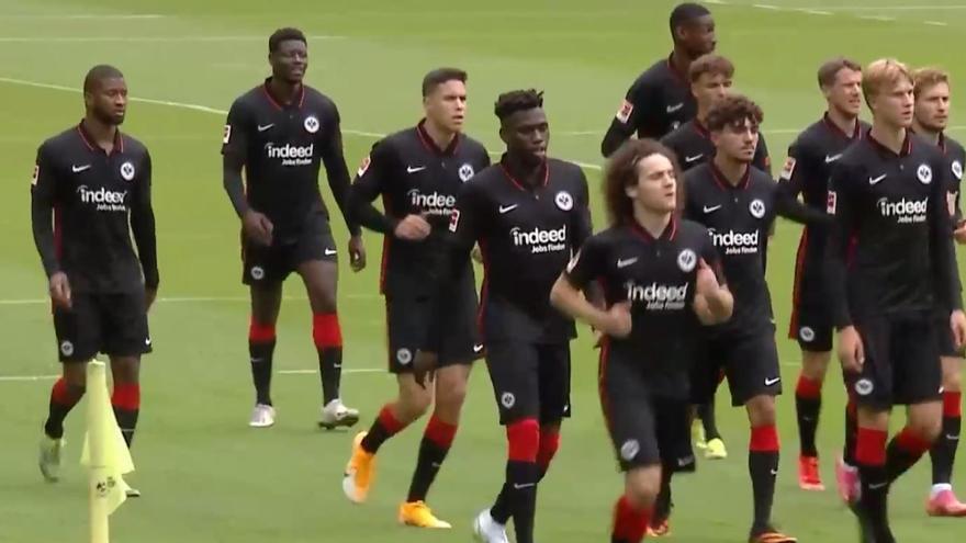 Fabio Blanco ya se entrena con el Eintracht de Frankfurt