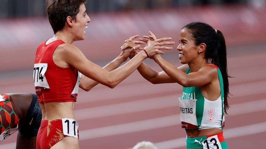 Marta Pérez se cuela en la final de 1.500 metros y Bokesa cae en semifinales de 400 m