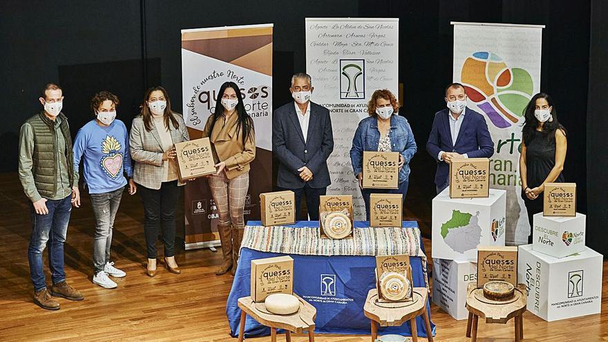 La Mancomunidad unifica la imagen de los quesos de la comarca norte