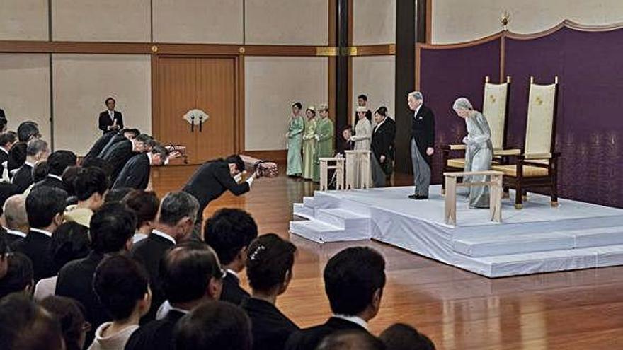 'Sayonara' Akihito