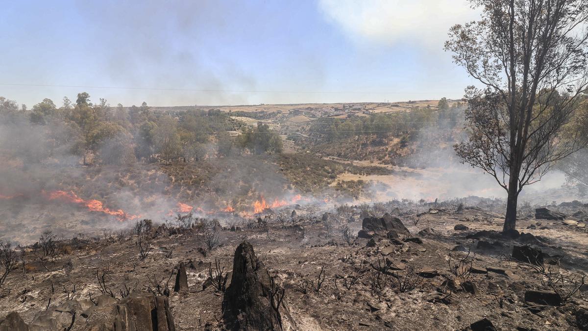 Una imagen de archivo de un incendio.