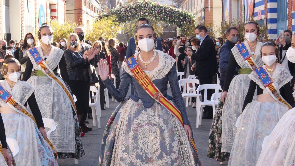 Consuelo Llobell, en una de sus últimas apariciones públicas.
