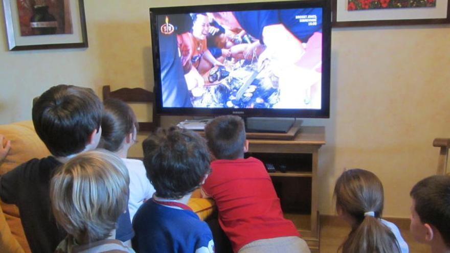 Ver la televisión es el hábito que más contribuye a la obesidad infantil