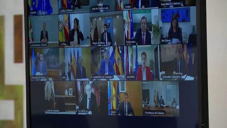 Sánchez comunica als presidents autonòmics que l'estat d'alarma s'allargarà 15 dies més