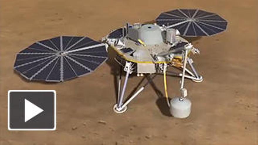 Así estudiará la NASA las profundidades de Marte
