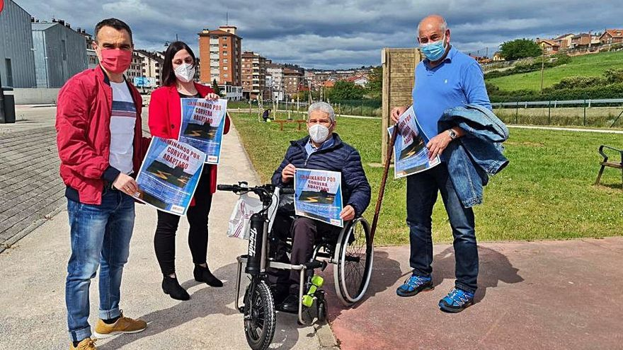 Corvera impulsa rutas adaptadas para personas con movilidad reducida