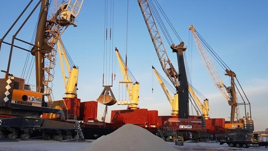 TMG, firma clave en la evolución del puerto de Castellón