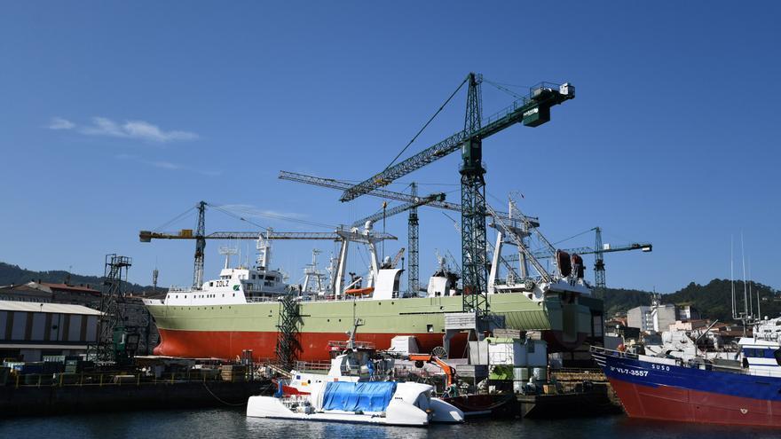 El naval vigués este año: seis contratos por 250 millones