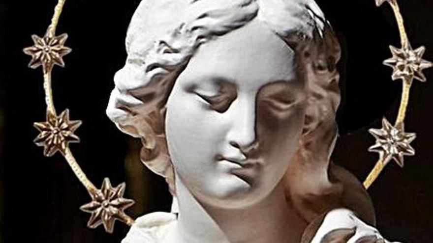 La Virgen peregrina que llegará a Villaviciosa