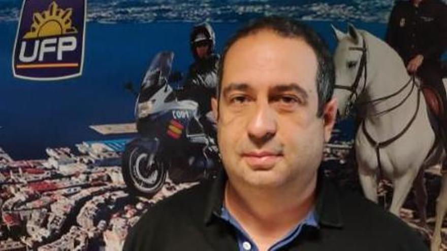 Agustín Vigo Barreiro, máximo responsable de la Unión Federal de la Policía en Vigo