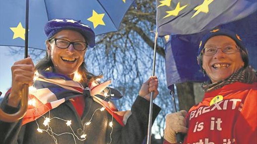 El 'brexit' en la calle