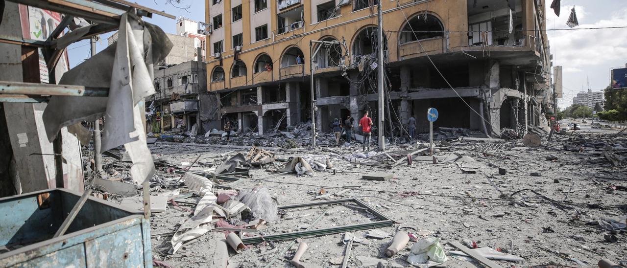 13 niños entre los 43 palestinos muertos en Gaza en la escalada con Israel