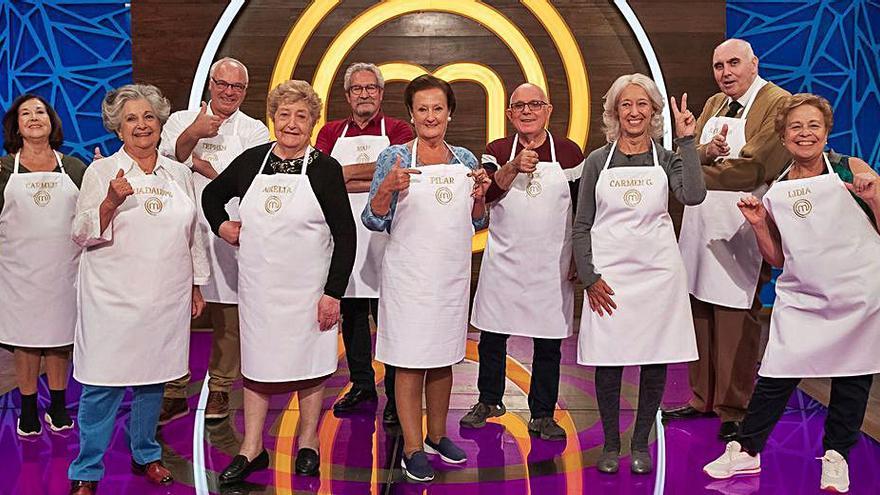 El «talent show» dedicado a los más mayores. | LEVANTE-EMV