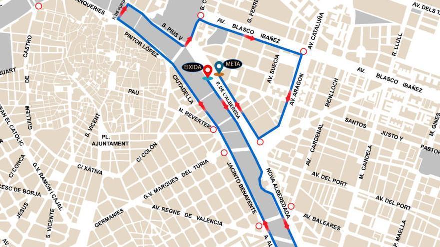 Horario y cortes de calles de la 10K Valencia Ibercaja