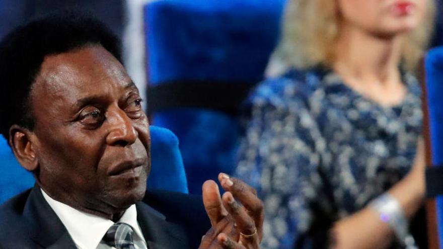 Desmienten el ingreso hospitalario de 'Pelé'