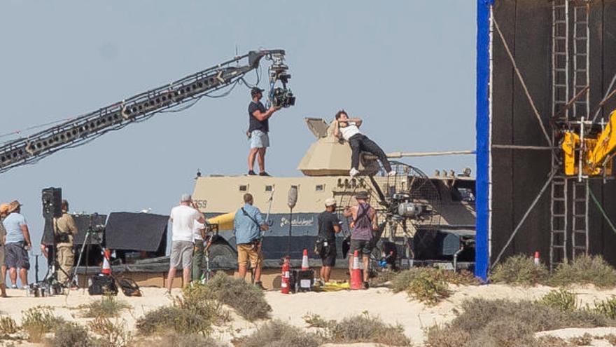 La industria cinematográfica deja en la Isla unos 100 millones en cuatro años