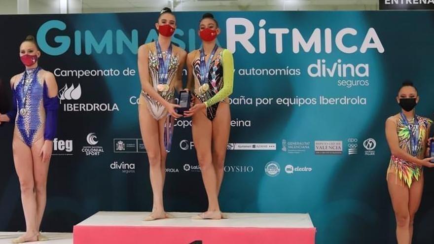 El Rítmica Santomera, subcampeón de España júnior