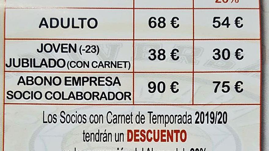El club naranja rebaja el precio de los abonos a los socios del pasado año