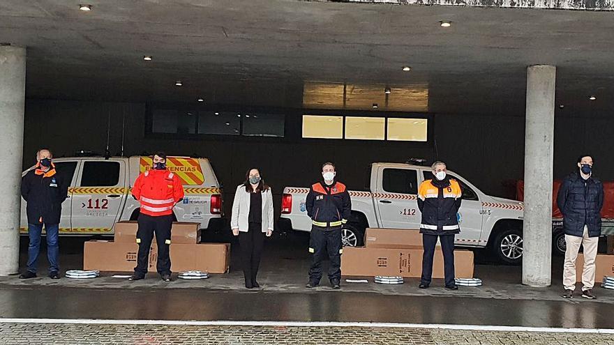Entregan tiendas de campaña para Protección Civil de Lalín