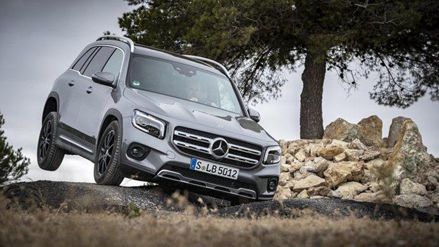 Mercedes-Benz GLB, per a tota la família i els amics