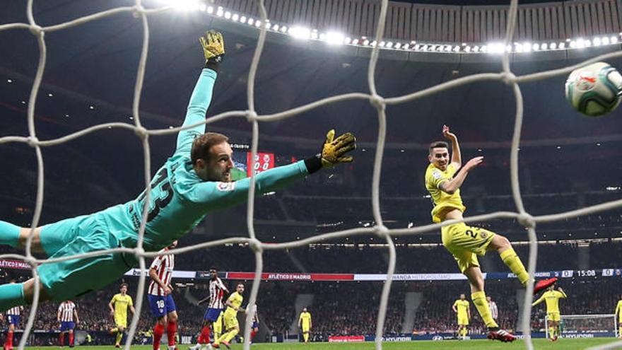El Metropolitano frena el ascenso del Villarreal