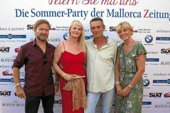 Miguel und Marion Cao mit Veronika Wegner und Dirk Adolphs