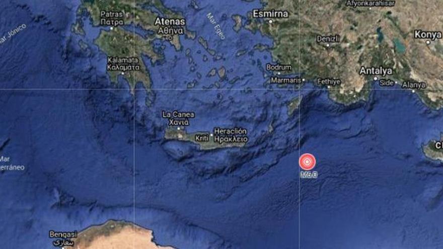 Un terremoto de magnitud 6,1 sacude la isla griega de Kárpatos