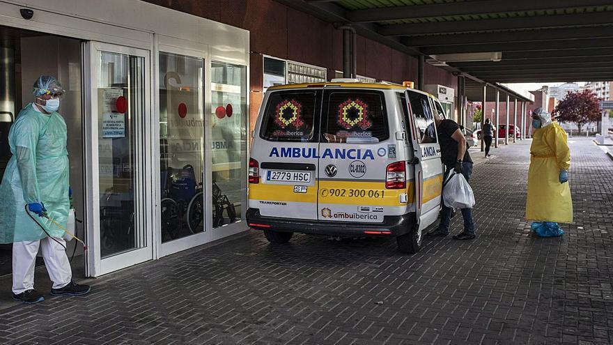 Coronavirus en Zamora | Urgencias bate el récord de ingresos, con 28 pacientes