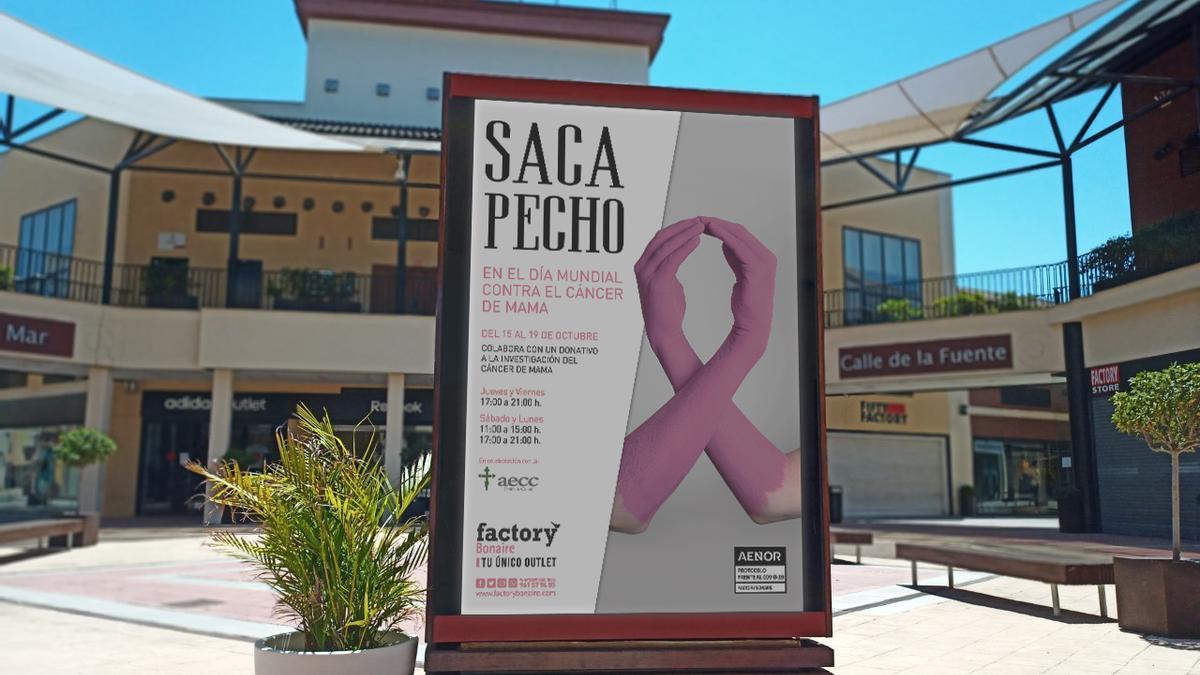 Factory Bonaire organiza una acción basada en la venta de artículos de la AECC.
