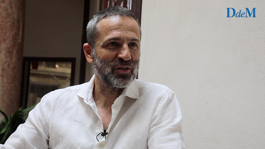 """Gustavo Salmerón: """"Presentar 'Muchos hijos, un mono y un castillo' en Mallorca está siendo muy satisfactorio porque la veo con otros ojos"""""""