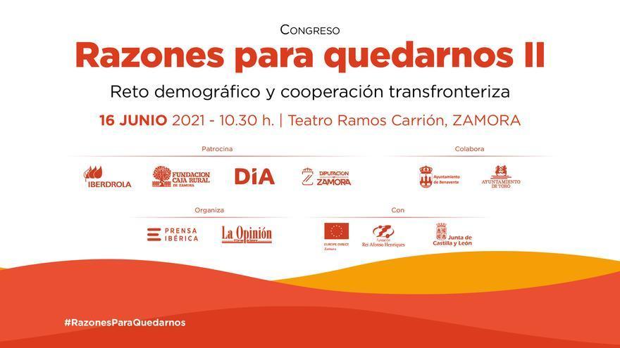 """Resumen congreso """"Razones para quedarnos II: Reto demográfico y cooperación transfronteriza"""""""