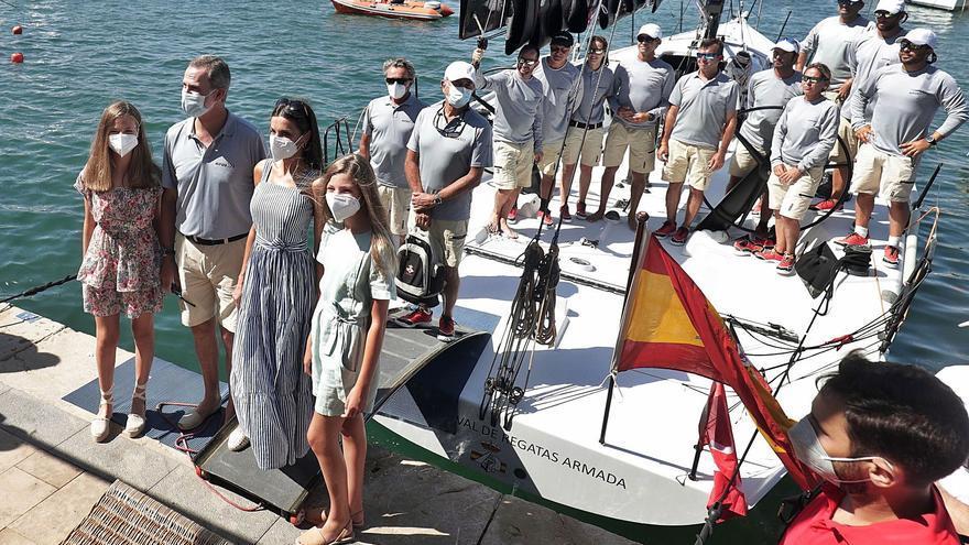 Leonor y Sofía rompen con la tradición náutica