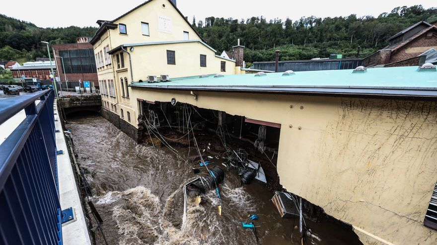 Alemania sufre las peores inundaciones en décadas
