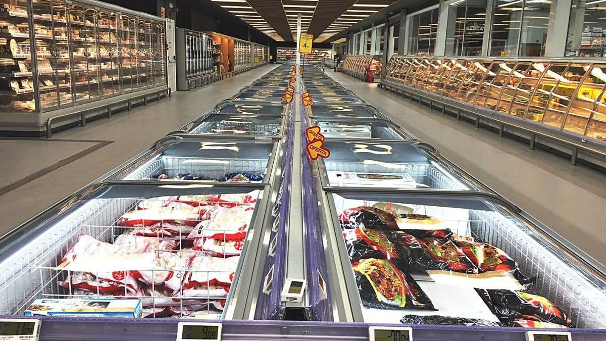 Interior d'un dels establiments de GM Food, en una imatge d'arxiu.