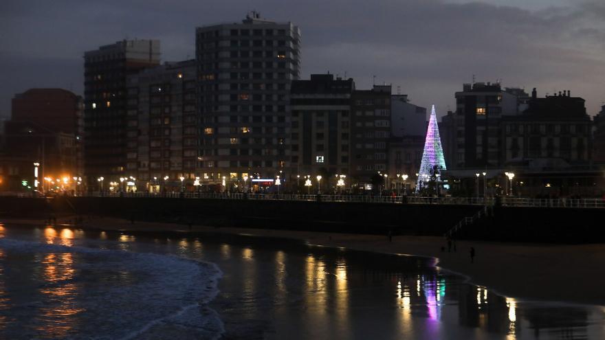 El desafío de la Navidad del covid en Gijón