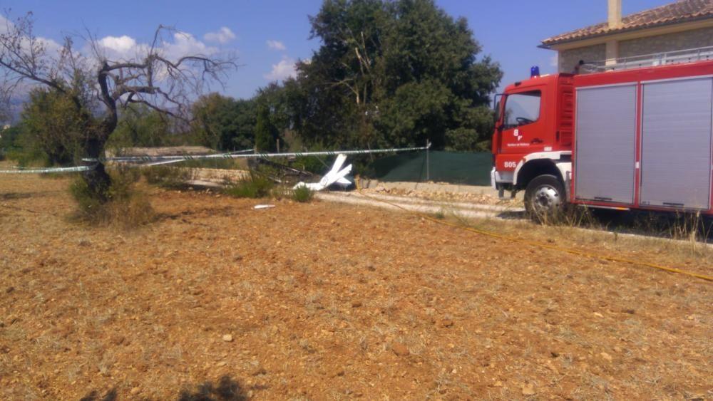 Accidente aéreo en Mallorca