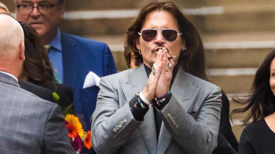 El juicio por difamación entre Johnny Depp y 'The Sun', a la espera de dictamen