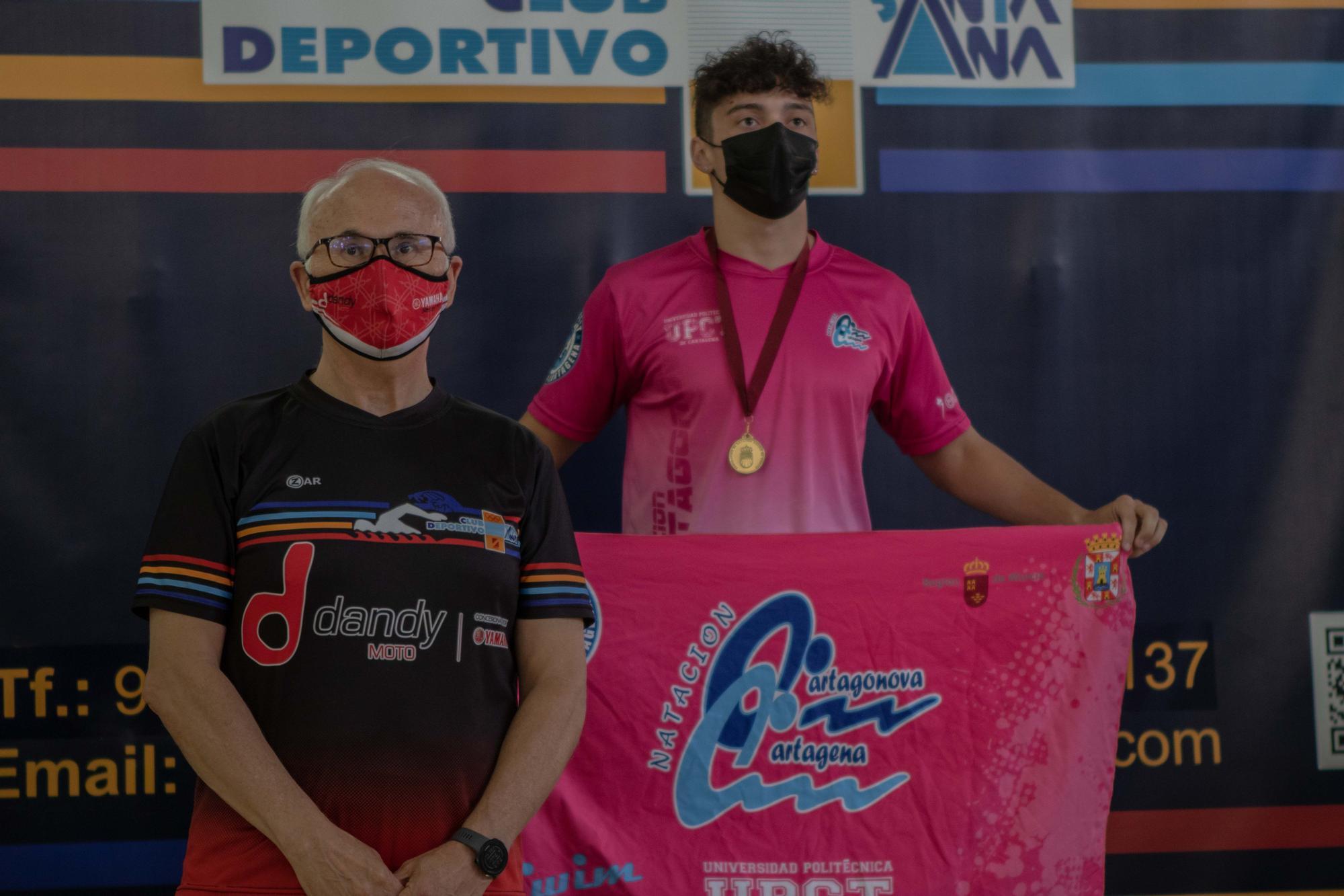 El CN Cartagonova-Cartagena, campeón regional de verano