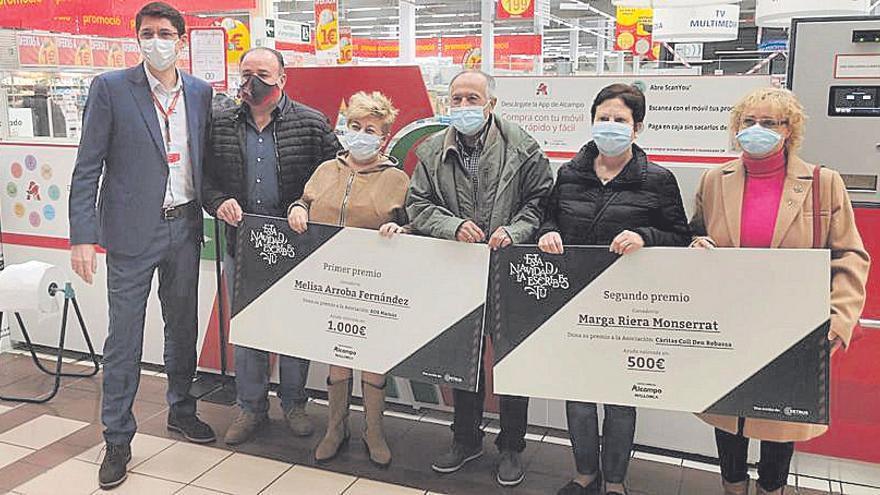 Alcampo entrega 1.500 euros solidarios