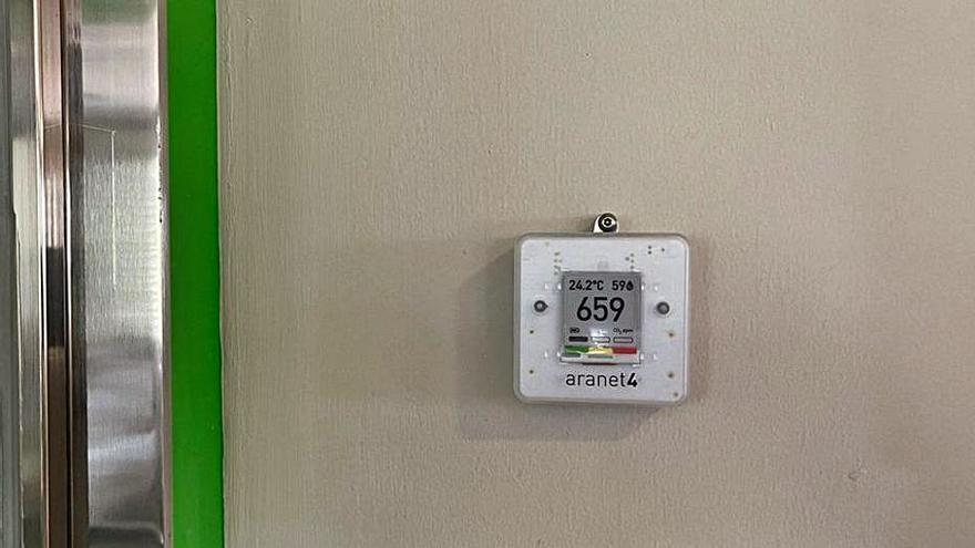 L'Hospital de Berga posa mesuradors de CO2
