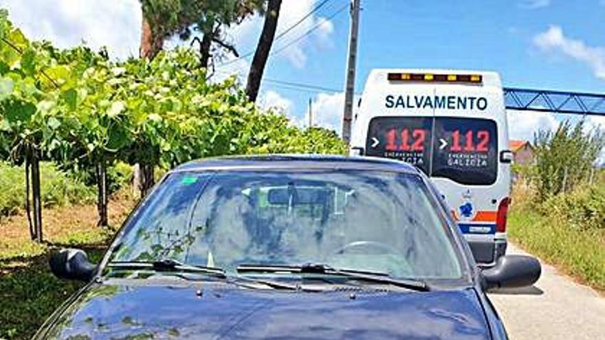 Una menor cambadesa fue atropellada en Covas de Lobos por un coche a baja velocidad