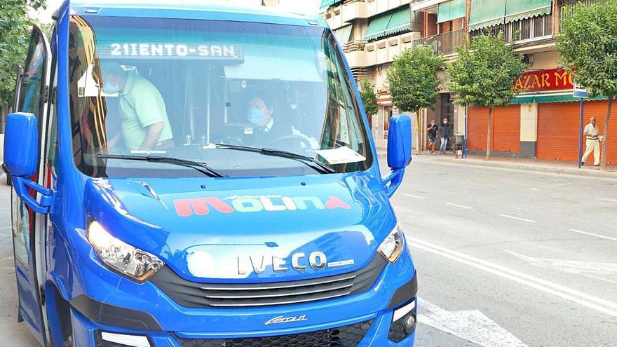 Los autobuses urbanos de Molina pasan a ser gratuitos