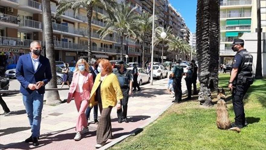 """Un fin de semana de """"normalidad"""", con 89 denuncias en Castellón"""