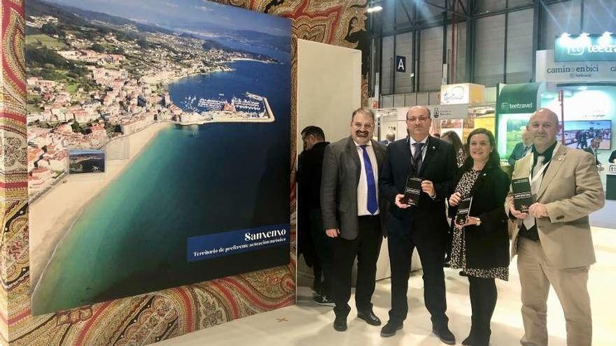 Más de treinta empresas turísticas de Sanxenxo desembarcan en Fitur