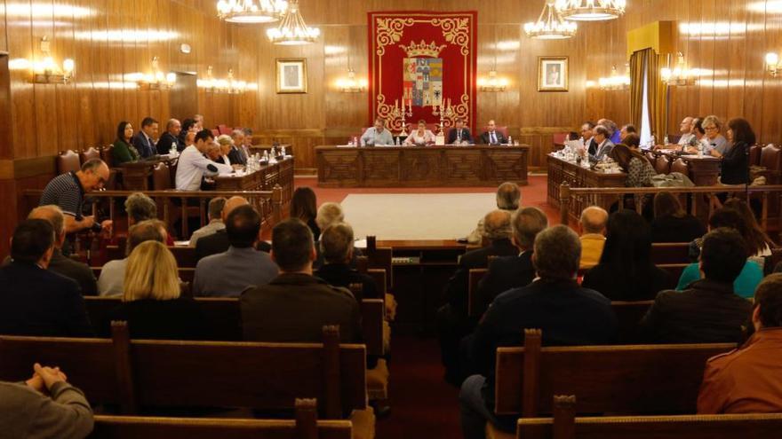 La Diputación despide el mandato de Martín Pozo
