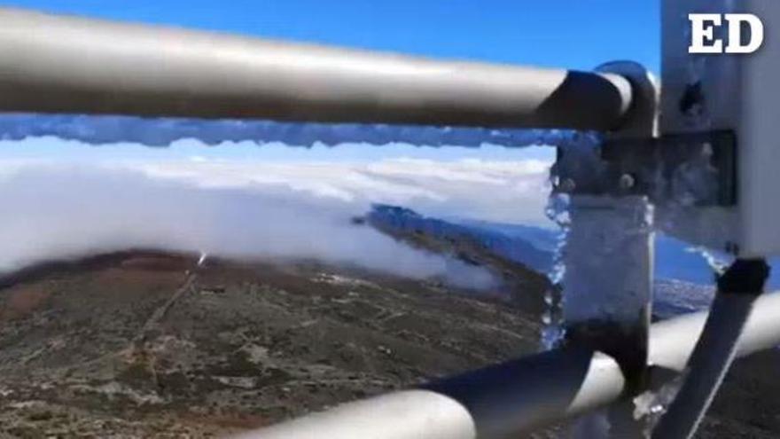 Chubascos y nieve en Canarias a lo largo de este domingo