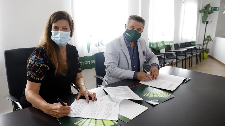 Fundación Unicaja colabora en adecuar la sede de la AECC de Benalmádena