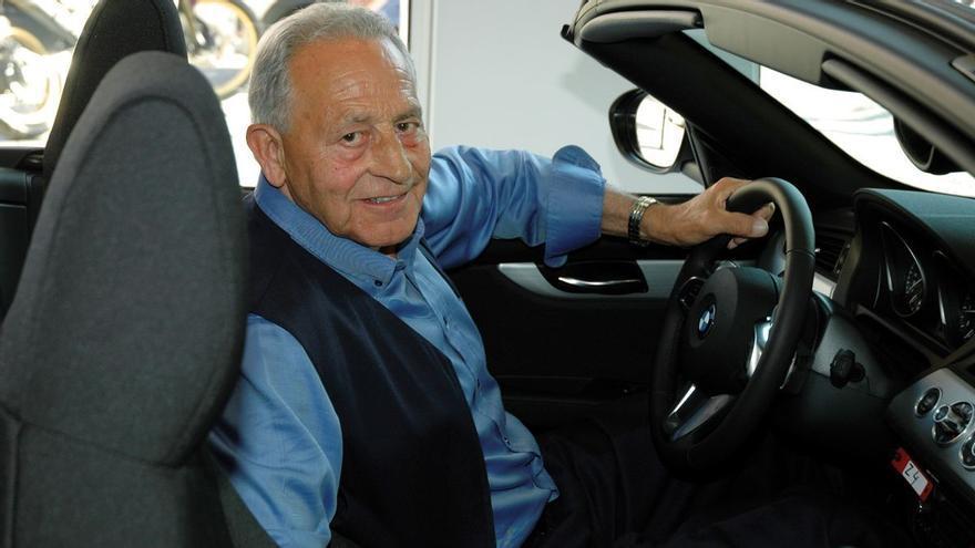 Muere Manuel Bertolín, fundador de los concesionarios BMW en España
