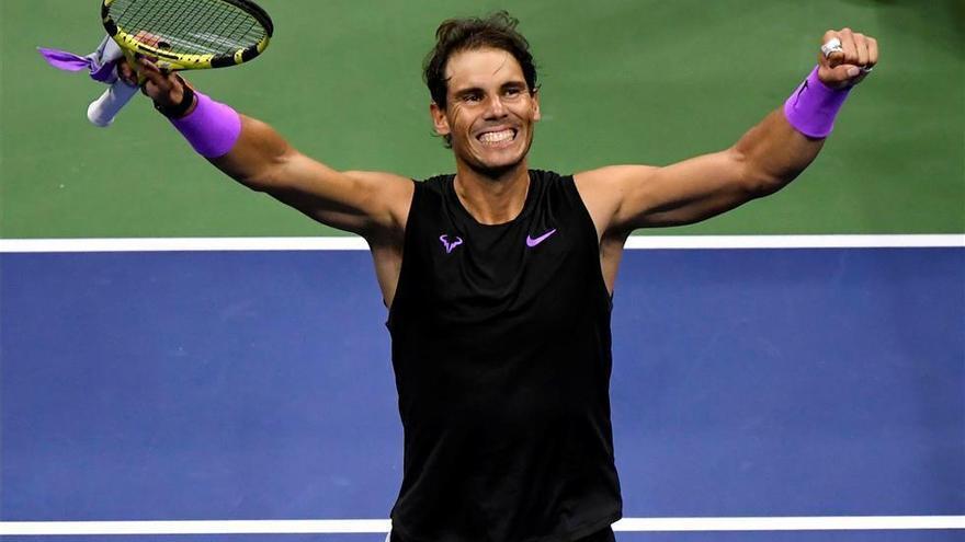 Nadal y Medvedev decidirán al nuevo campeón del Abierto de EEUU